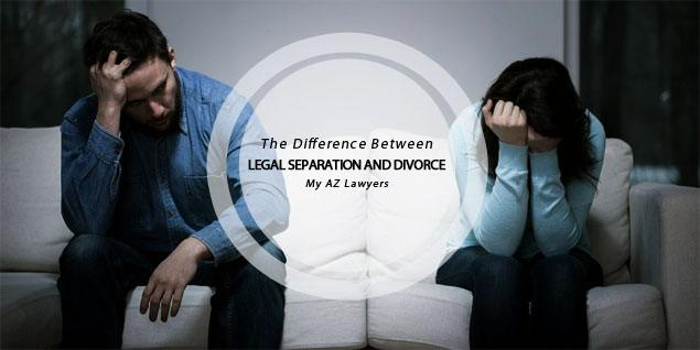 what are the differences between separation